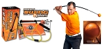 Orange Whip Trainer and GolfGym PowerSWING Plus